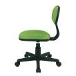 OSP Designs Student Task Chair in Green Fabric