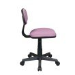 OSP Designs Student Task Chair in Purple Fabric