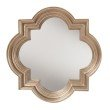 OSP Designs The Gatsby Wall Mirror With Platinum Gold Frame