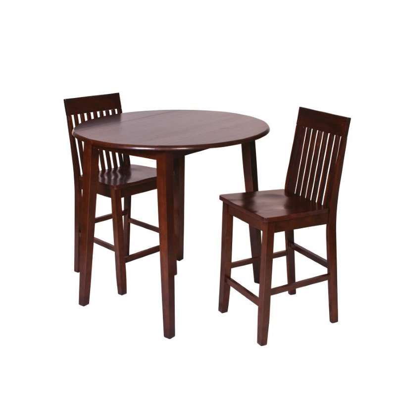 OSP Designs Westbrook Pub Table in Amarretto