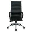OSP Furniture High Back Black Bonded Leather Chair