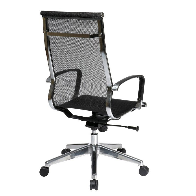 OSP Furniture High Back Mesh Screen Back And Seat Chair