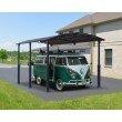 Palram Arcadia Alpine 12 x 21 Carport in Gray (HG9126)