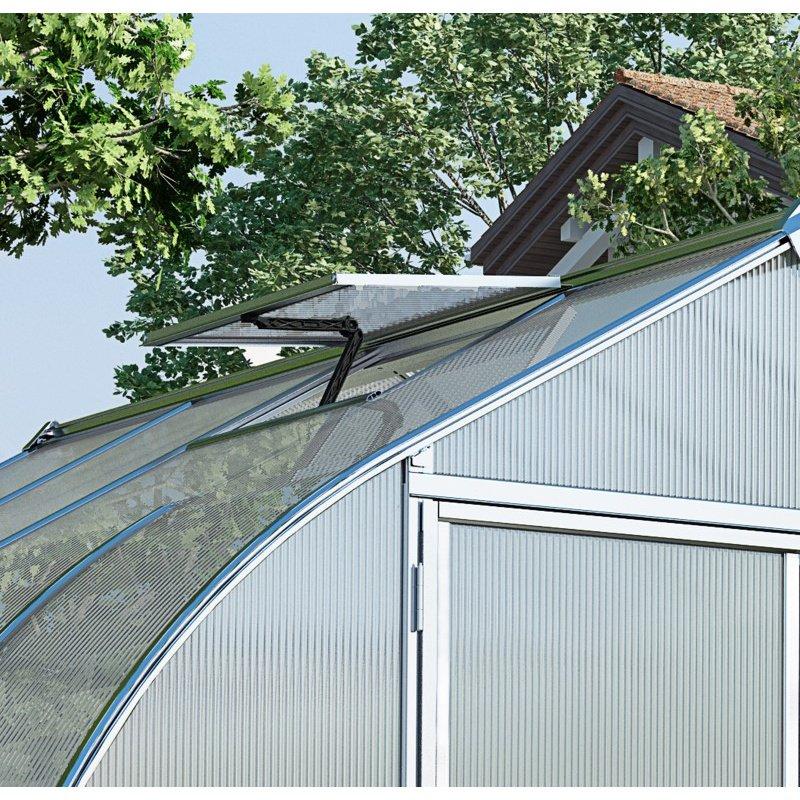 Palram Bella 8' x 12' Hobby Greenhouse in Silver