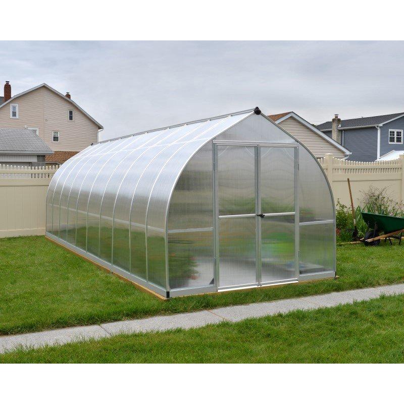 Palram Bella 8' x 20' Hobby Greenhouse in Silver