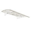 Palram Bordeaux 2230 Awning in White and Clear (HG9583)