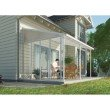 Palram Feria 10' Patio Cover Sidewall in White (HG9005)
