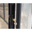 Palram Ledro 12 x 12 Gazebo with Screen Doors in Gray/Bronze (HG9193)