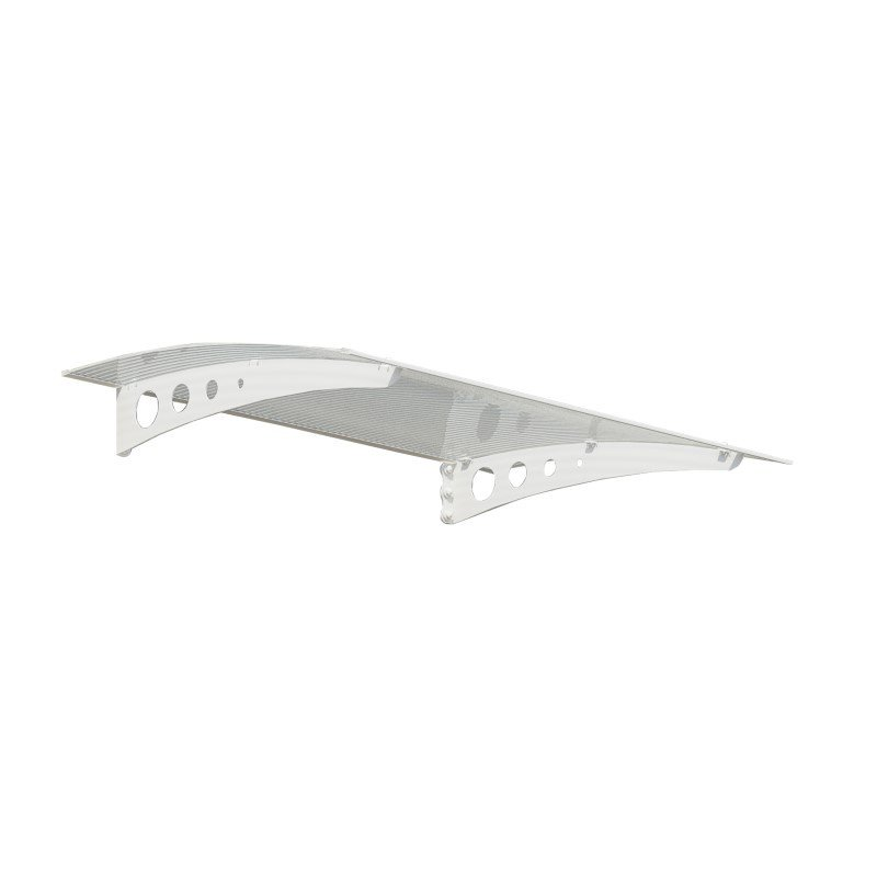 Palram Lyra 1350 Awning in White & Clear