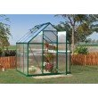 Palram Mythos 6' x 6' Hobby Greenhouse in Green