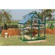 Palram Nature Series Hybrid 6' x 4' Hobby Greenhouse in Forest Green