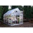 Palram Nature Series Hybrid 6' x 8' Hobby Greenhouse in Silver