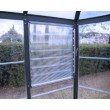 Palram Oasis Hex 10' x 12' Greenhouse in Gray (HG6005)