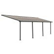 Palram Olympia 10' x 28' Patio Cover in Gray/Bronze (HG8828)