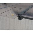 Palram Olympia 10' x 30' Patio Cover in Gray/Bronze (HG8830)