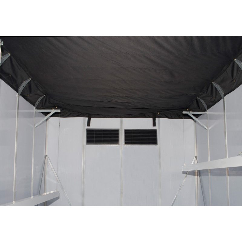 Palram Oriana 8' x 20' Greenhouse in Silver (HG5320)