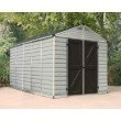 Palram SkyLight 8' x 12' Storage Shed in Tan (HG9812T)