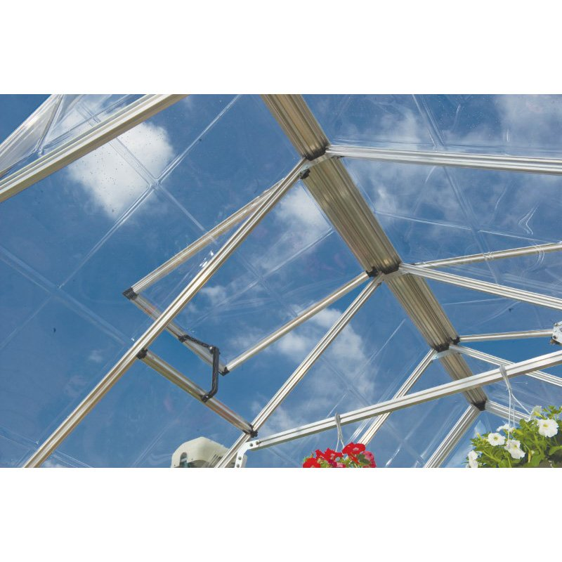 Palram Snap & Grow 8' x 32' Greenhouse in Silver (HG8032)
