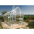 Palram Snap & Grow 6' x 16' Hobby Greenhouse in Silver