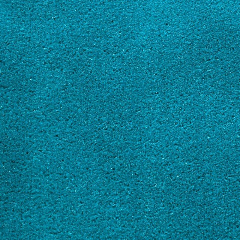 """Plutus Brands Aquamarine Velvet Turquoise Luxury Throw Pillow 20"""" x 26"""" Standard (PBKR1911-2026-DP)"""
