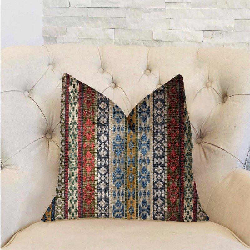 "Plutus Brands Arrowhead Canal Multicolor Luxury Throw Pillow 12"" x 20"" (PBRA2308-1220-DP)"