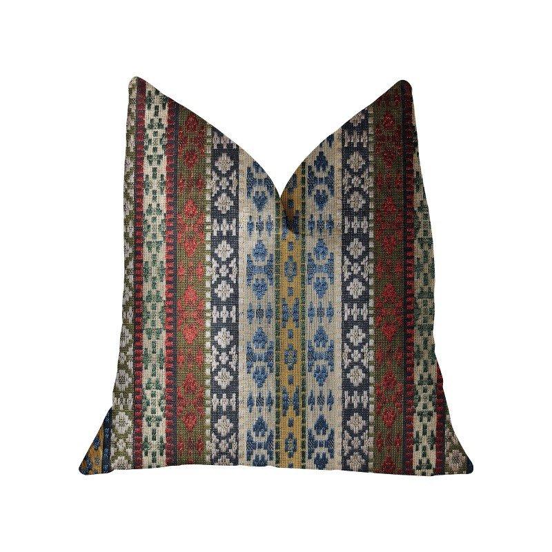 "Plutus Brands Arrowhead Canal Multicolor Luxury Throw Pillow 18"" x 18"" (PBRA2308-1818-DP)"