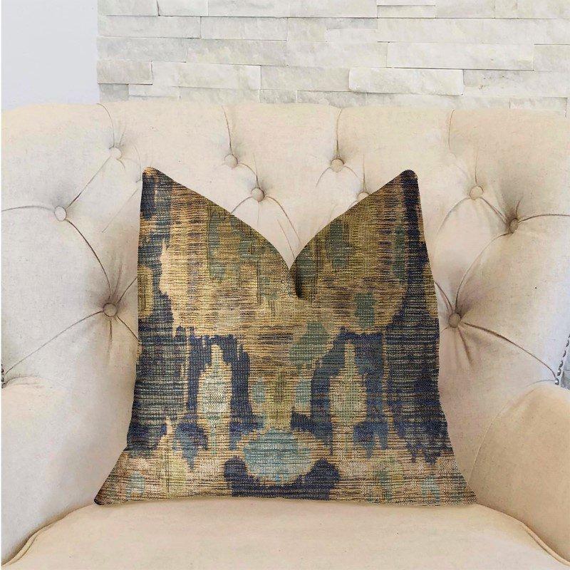"Plutus Brands Bear Valley Green Luxury Throw Pillow 20"" x 20"" (PBRA2311-2020-DP)"