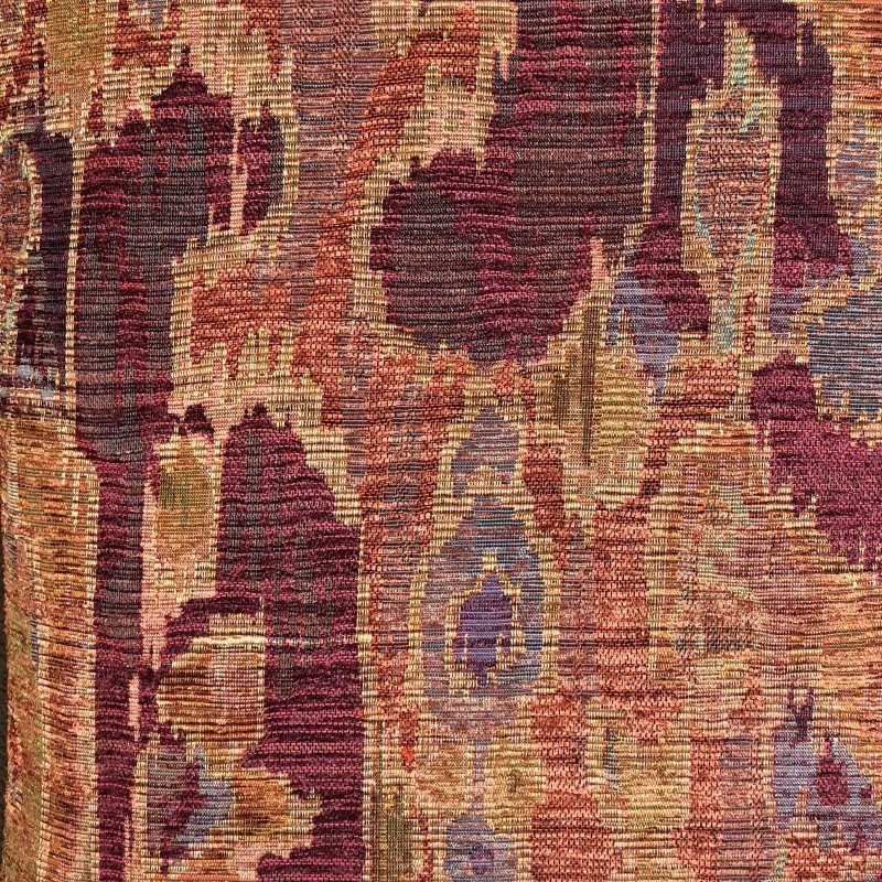 "Plutus Brands Bear Valley Red Luxury Throw Pillow 16"" x 16"" (PBRA2310-1616-DP)"