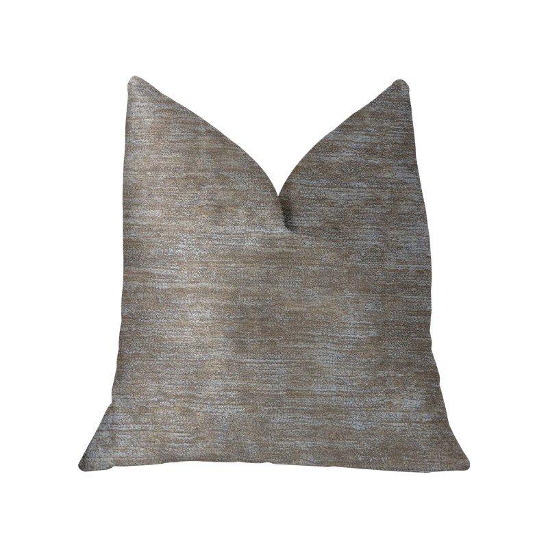"Plutus Brands Bella Isabella Brown and Beige Luxury Throw Pillow 20"" x 20"" (PBKR1906-2020-DP)"