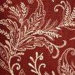 "Plutus Brands Berry Crest Vineyard Red and Beige Luxury Throw Pillow 16"" x 16"" (PBRA2285-1616-DP)"