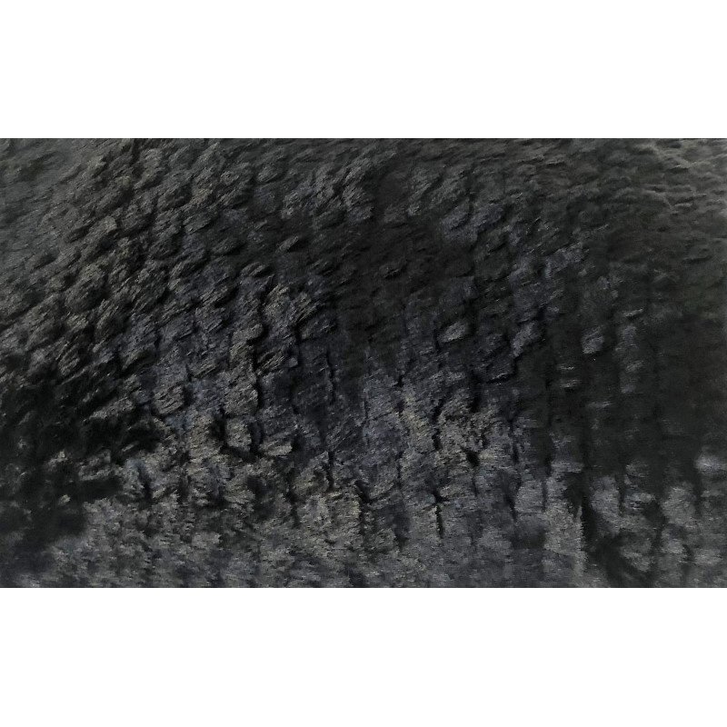 """Plutus Brands Black Mink Faux Fur Luxury Throw 60""""W x 84""""L (PBSF1447-6084-TC)"""
