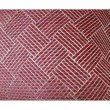 "Plutus Brands Boysenberry Pink and Cream Handmade Luxury Pillow 22"" x 22"" (PBRAZ274-2222-DP)"