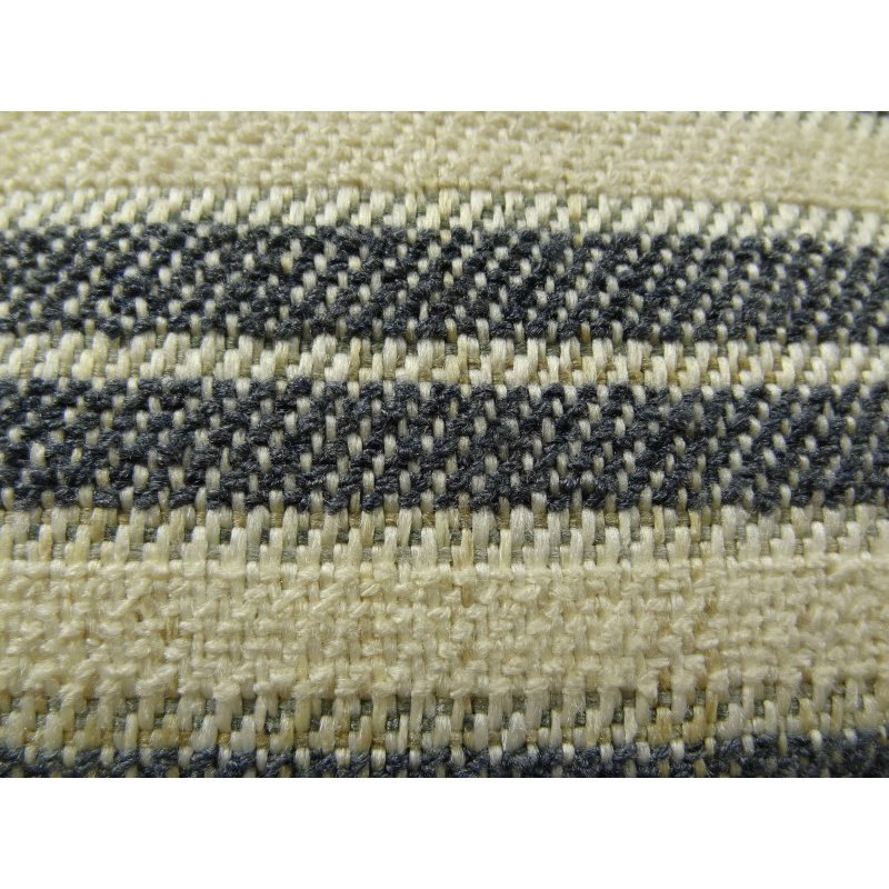 "Plutus Brands By meadow Navy and Cream Handmade Luxury Pillow 18"" x 18"" (PBRAZ156-1818-DP)"