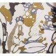 "Plutus Brands Camellia Floral Blue Beige Tones Luxury Throw Pillow 26"" x 26"" (PBRA1358-2626-DP)"