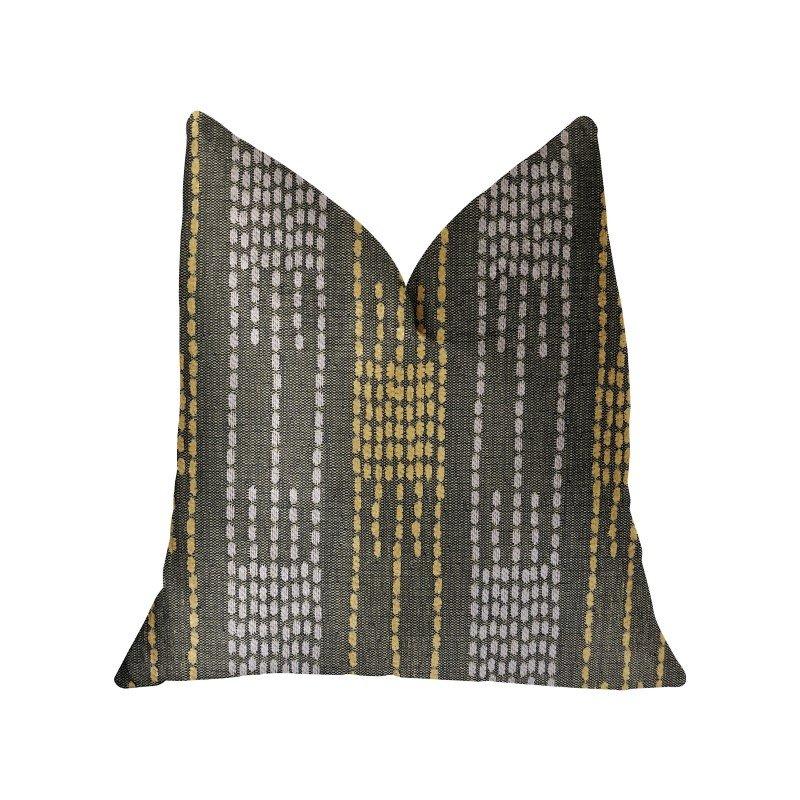 "Plutus Brands Capella Green Luxury Throw Pillow 12"" x 20"" (PBRA2289-1220-DP)"