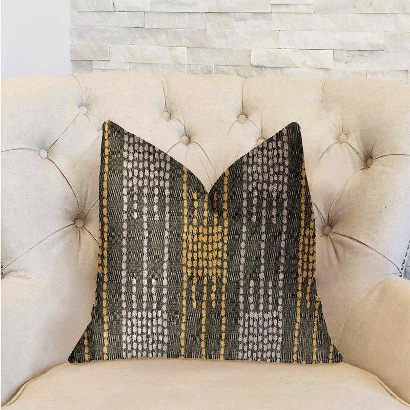 "Plutus Brands Capella Green Luxury Throw Pillow 20"" x 30"" Queen (PBRA2289-2030-DP)"