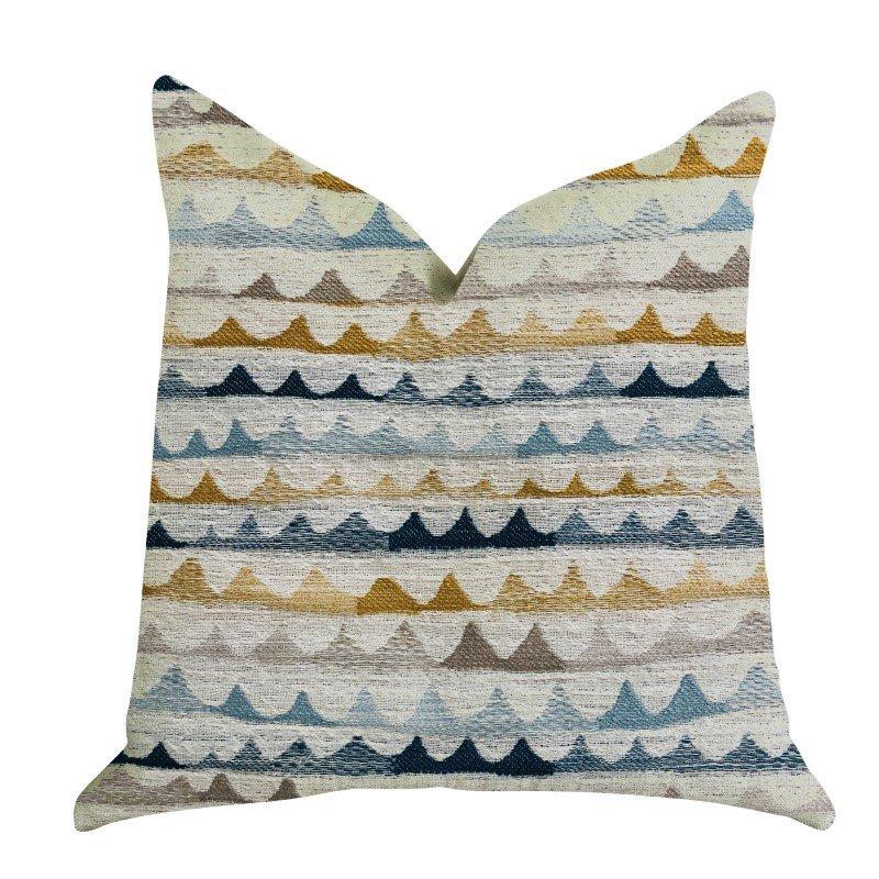 "Plutus Brands Caspian Rush Patterned Luxury Throw Pillow 12"" x 25"" (PBRA1331-1225-DP)"