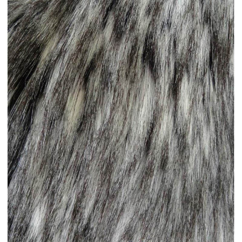 "Plutus Brands Cozy Siberian Husky Gray White Black Handmade Luxury Pillow 20"" x 36"" King (PBRAZ461-2036-DP)"