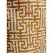 "Plutus Brands Crossroad Orange and Ivory Handmade Luxury Pillow 20"" x 30"" Queen (PBRAZ040-2030-DP)"