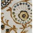 "Plutus Brands Daliani Floral Luxury Throw Pillow 12"" x 25"" (PBRA1327-1225-DP)"