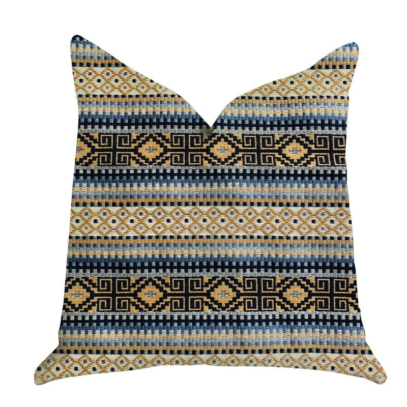 "Plutus Brands Daphne Diamante Textured Luxury Throw Pillow 20"" x 26"" Standard (PBRA1324-2026-DP)"