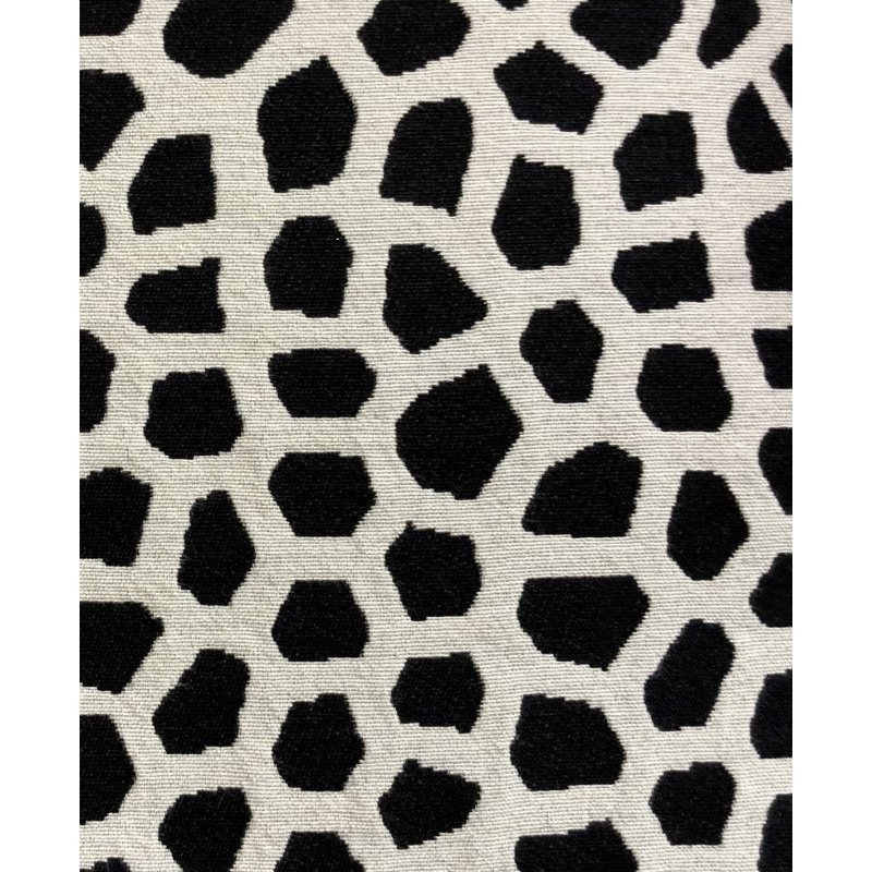"""Plutus Brands Dark Jewels Luxury Throw Pillow in Black and White Pillows 20"""" x 30"""" Queen (PBRA1374-2030-DP)"""