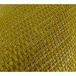 """Plutus Brands Deep Lemon Grass Metallic Citrine and Gold Handmade Luxury Pillow 20"""" x 26"""" Standard (PBRAZ245-2026-DP)"""