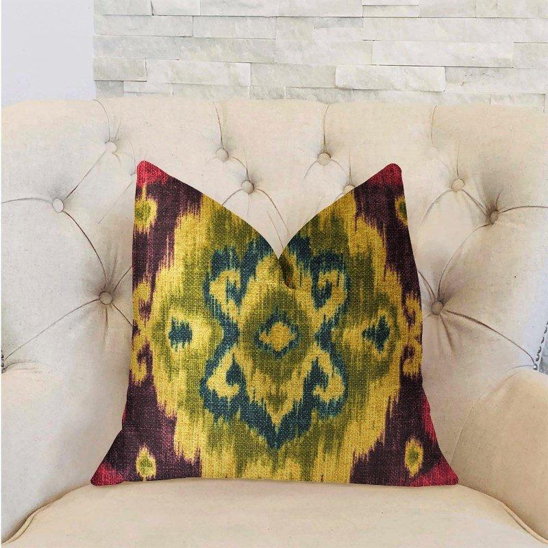 "Plutus Brands Destiny Multicolor Luxury Throw Pillow 26"" x 26"" (PBRA2284-2626-DP)"