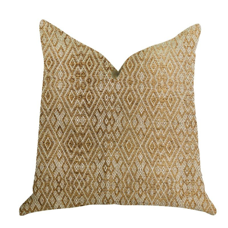 "Plutus Brands Diamond Gem Luxury Throw Pillow 12"" x 25"" (PBRA1319-1225-DP)"