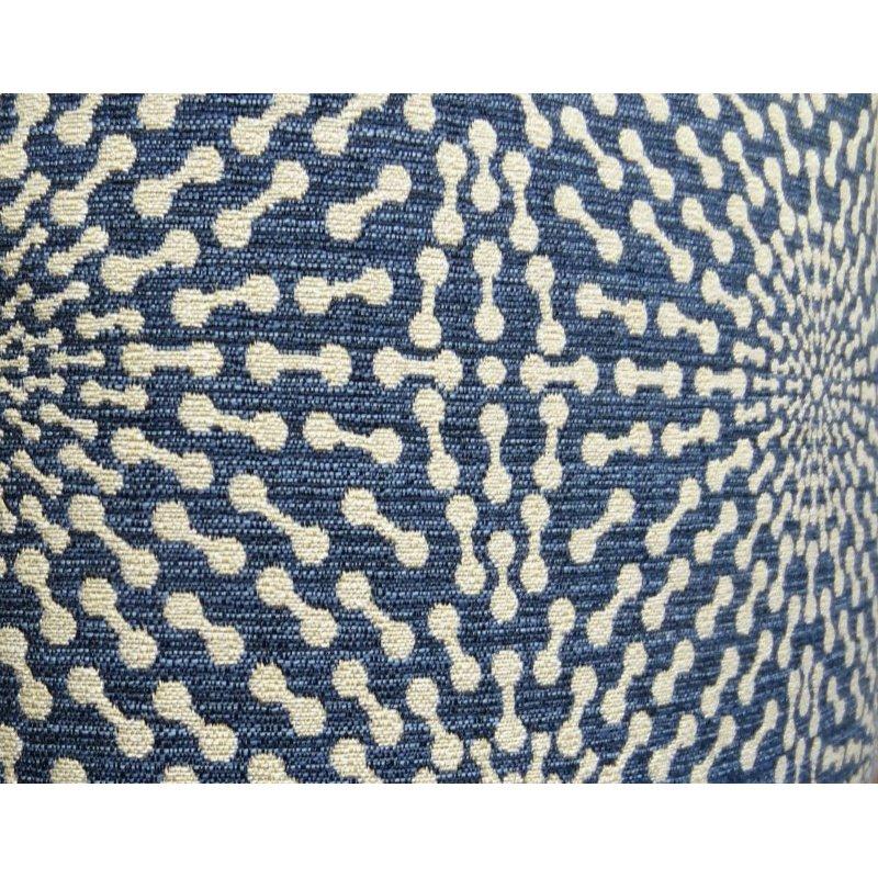 "Plutus Brands Dream Catcher Navy and Cream Handmade Luxury Pillow 24"" x 24"" (PBRAZ080-2424-DP)"