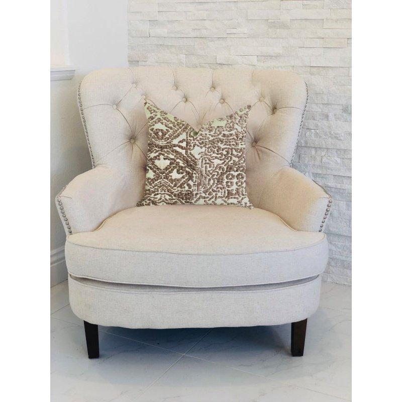 "Plutus Brands Dusky Cosmo Textured Luxury Throw Pillow 12"" x 25"" (PBRA1388-1225-DP)"