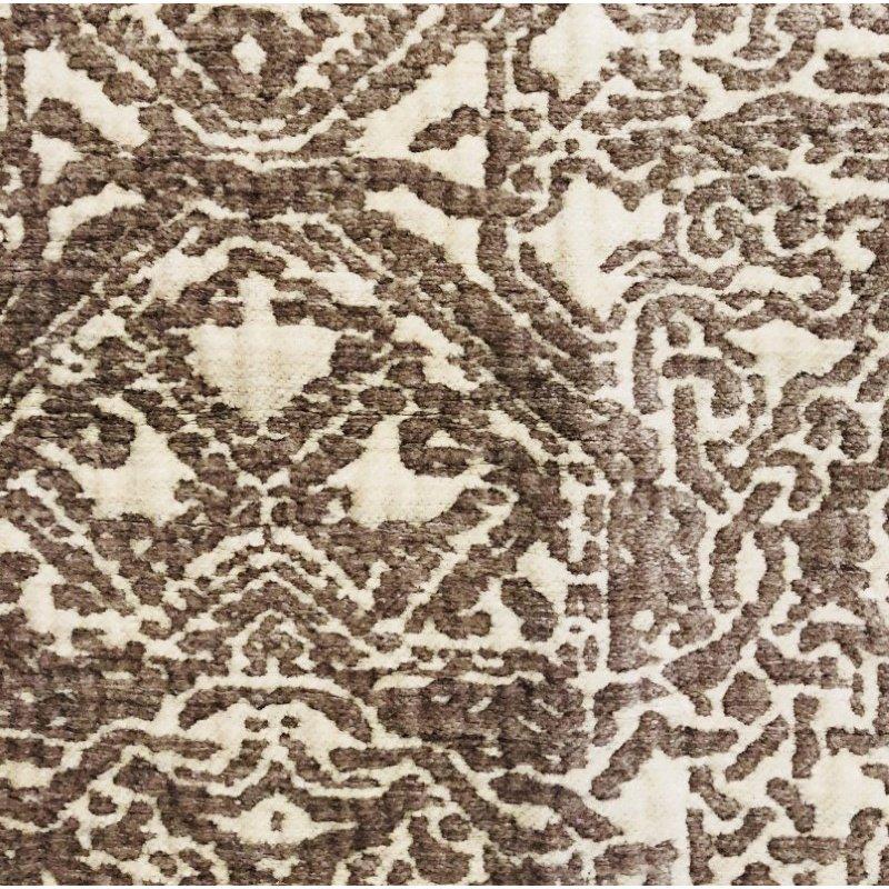 """Plutus Brands Dusky Cosmo Textured Luxury Throw Pillow 20"""" x 30"""" Queen (PBRA1388-2030-DP)"""