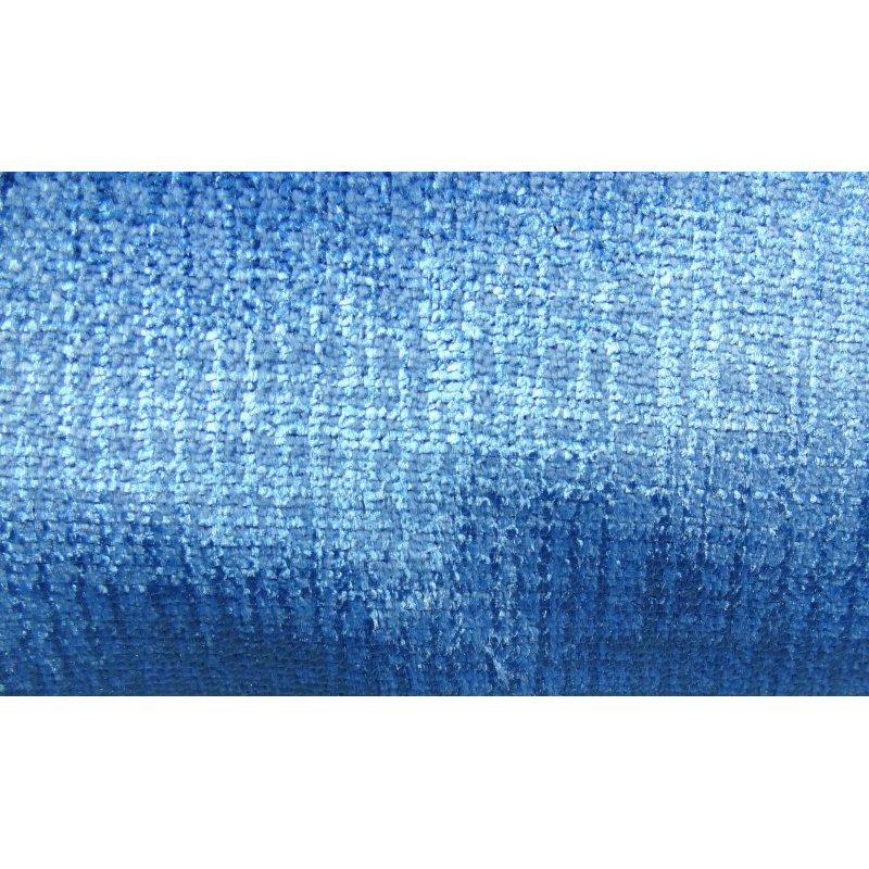 "Plutus Brands Electric Azure Blue Handmade Luxury Pillow Double Sided 20"" x 20"" (PBRAZ389-2020-DP)"