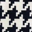 "Plutus Brands Element Black and White Luxury Throw Pillow 22"" x 22"" (PBKR1984-2222-DP)"
